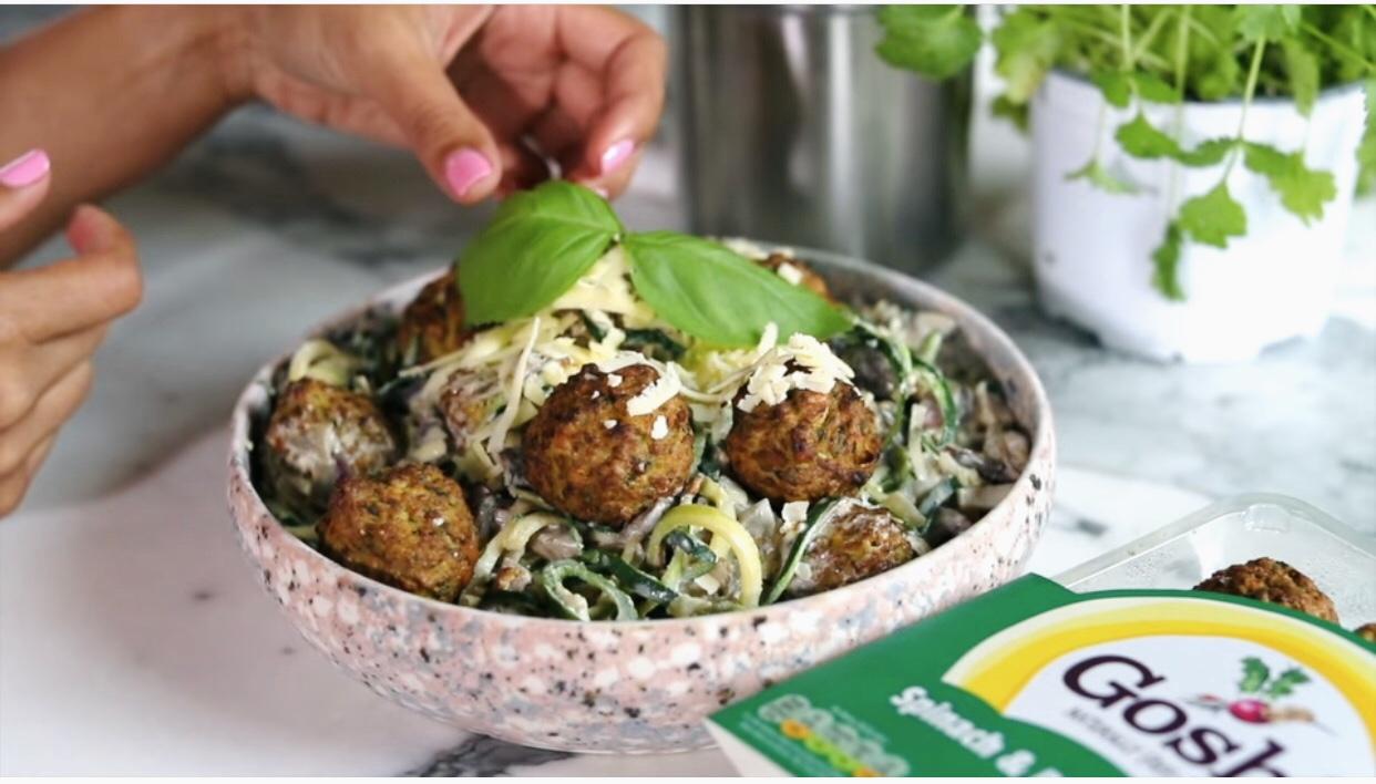 Gosh! Spinach & Courgette Alfredo