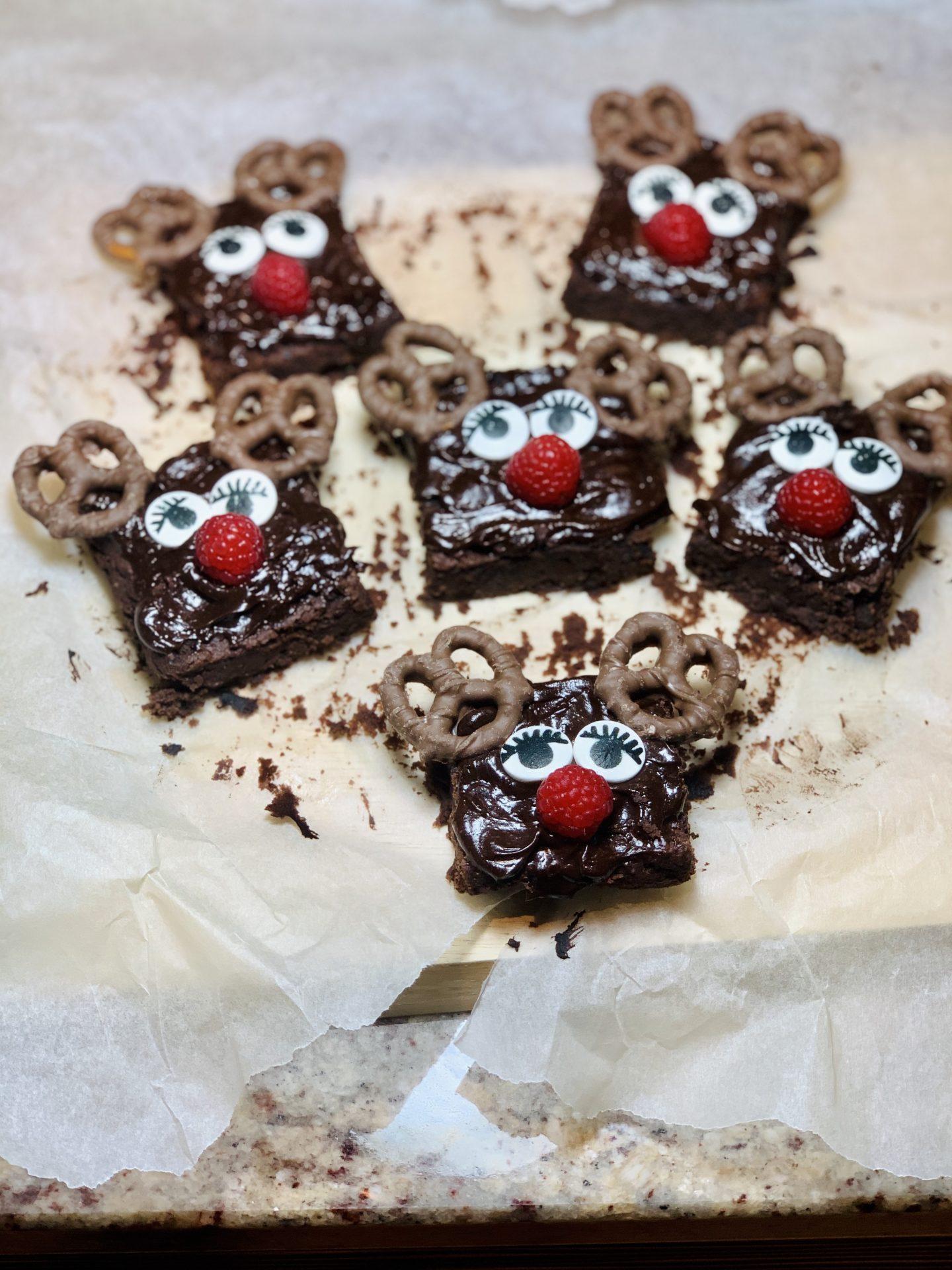 Black Bean Choco Brownies