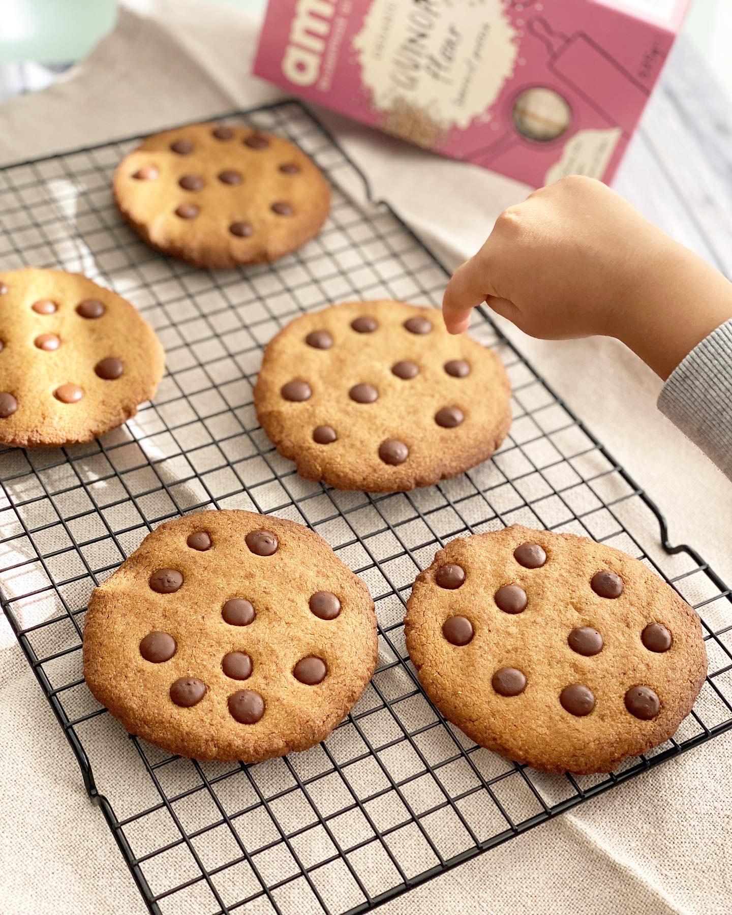 Quinoa Choc-Nib Cookies