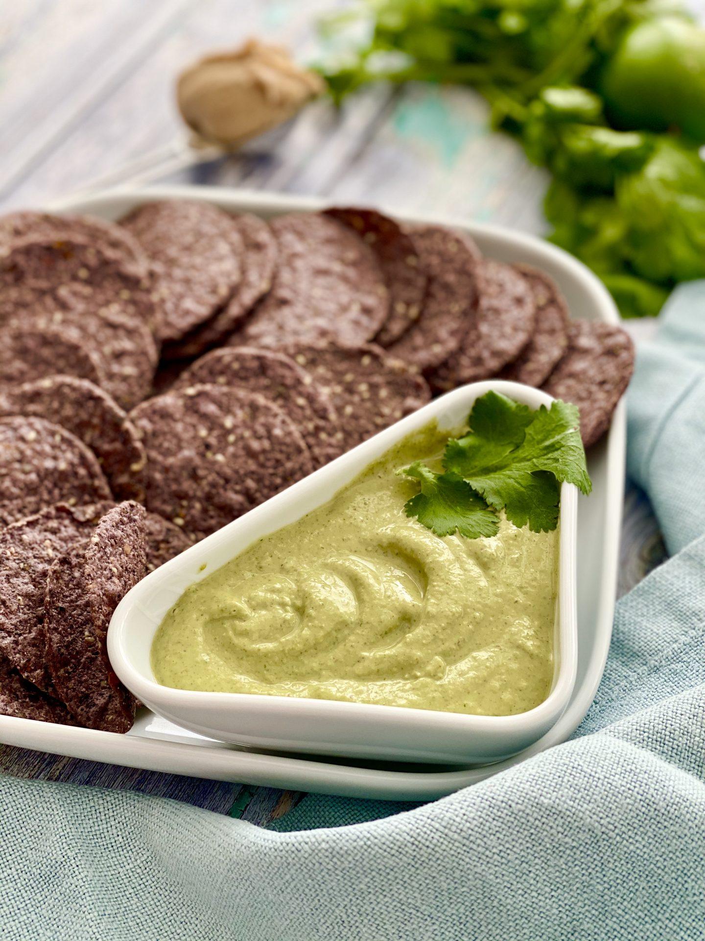 Green-Nut Butter Sauce