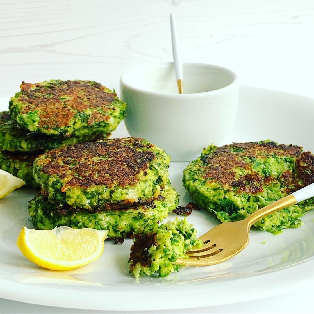 Kale & Pea Cheesy Patties
