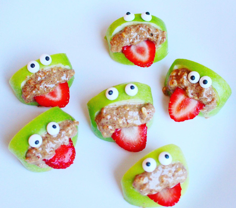 Green Peanut Monsters