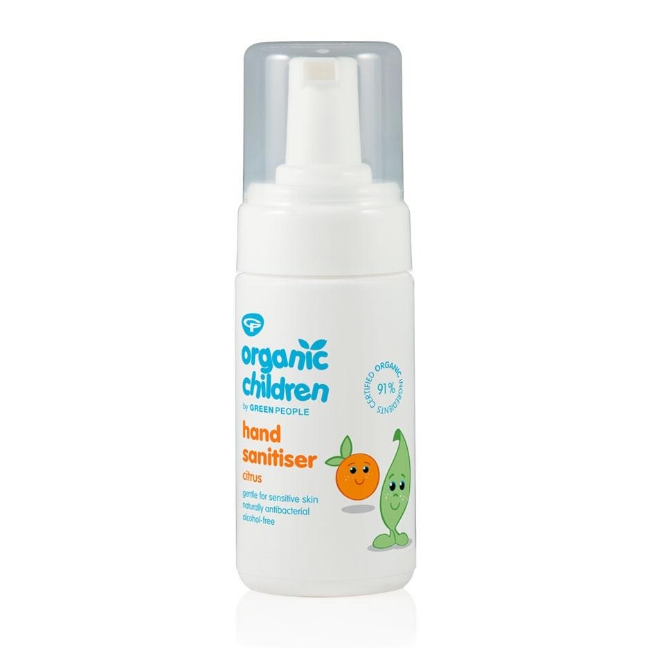 Alcohol Free Hand Sanitiser Safe for Babies and For Travel
